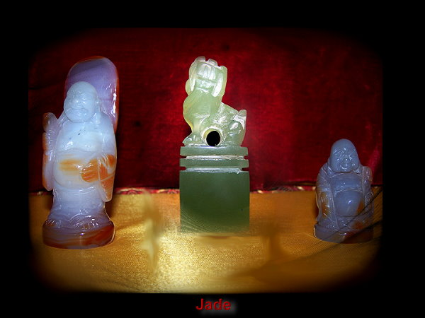 HANKO CREATIONS - HAND CARVED SIGNATURE STONES - Hand Carved Signature Stones (Hanko, Inkan, Wari in, Chinese Chops)